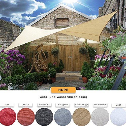 CelinaSun-Sonnensegel-Sonnenschutz-Garten-UV-Schutz-wetterbestndig-HDPE-atmungsaktiv-Dreieck