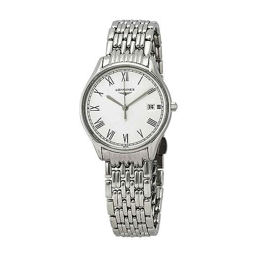 Longines Lyre L4.359.4.11.6 - Reloj para Mujer, Esfera Blanca: Amazon.es: Relojes