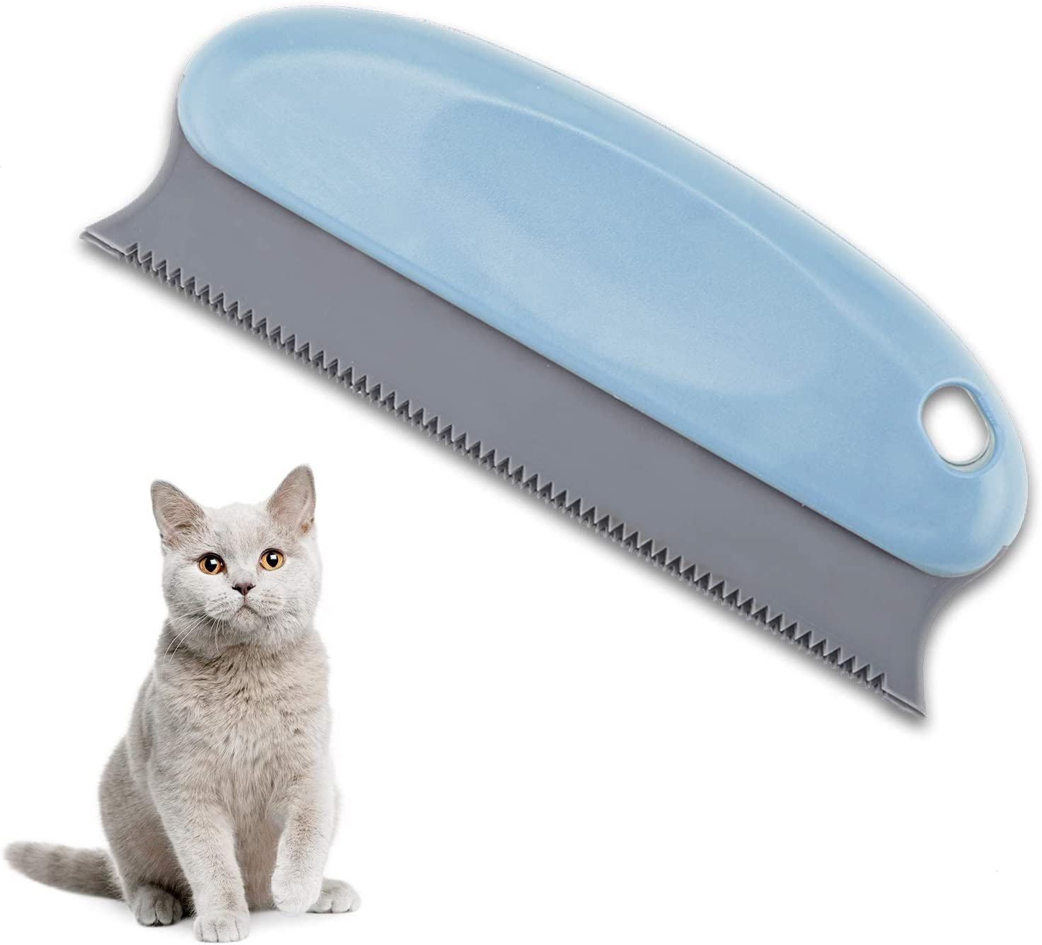 Auidy_6TXD Pet Hair Remover Brush - Lint Brush - Fur Remover - Dog & Cat Hair Remover for Couch, Furniture, Carpet, Clothing, Blankets, Car, Bed