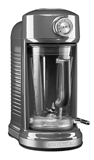 Kitchenaid 5ksb5080ems Magnetic Drive Blender Medallion Silber