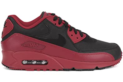 sports shoes 0c8ae b767a Nike Air Max 90 Winter PRM, Chaussures de Running Homme, Rojo/Noir ...