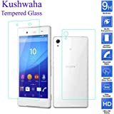 Kushwaha Front & Back Tempered Glass Screen Protector HD Quality For Sony Xperia Z3+ Plus