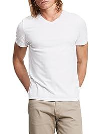 Calvin Klein Men's Slim-Fit Basic V-Neck T-Shirt