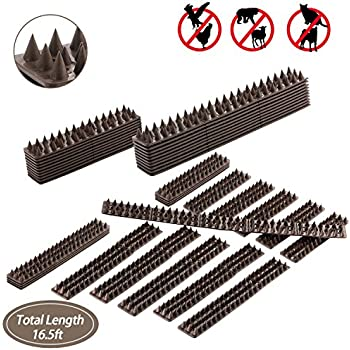 Amazon Com White Pack Of 10 Security Spikes Garden Outdoor
