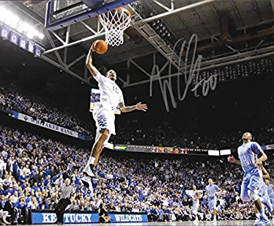 Willie Cauley-Stein Hand Signed 8x10 UK Kentucky Wildcats Photo w/ COA