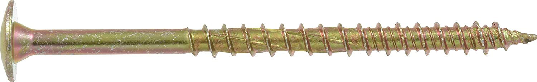 59 Piece Yellow Power Pro 116968 Multi-Material Screws