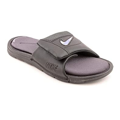 4a05ca22b NIKE Comfort Custom Slide 2 Youth Boys Black Slides Sandals Shoes UK 5.5   Amazon.co.uk  Shoes   Bags