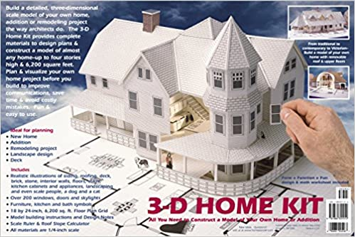 3 D Home Kit All You Need To Construct A Model Of Your Own