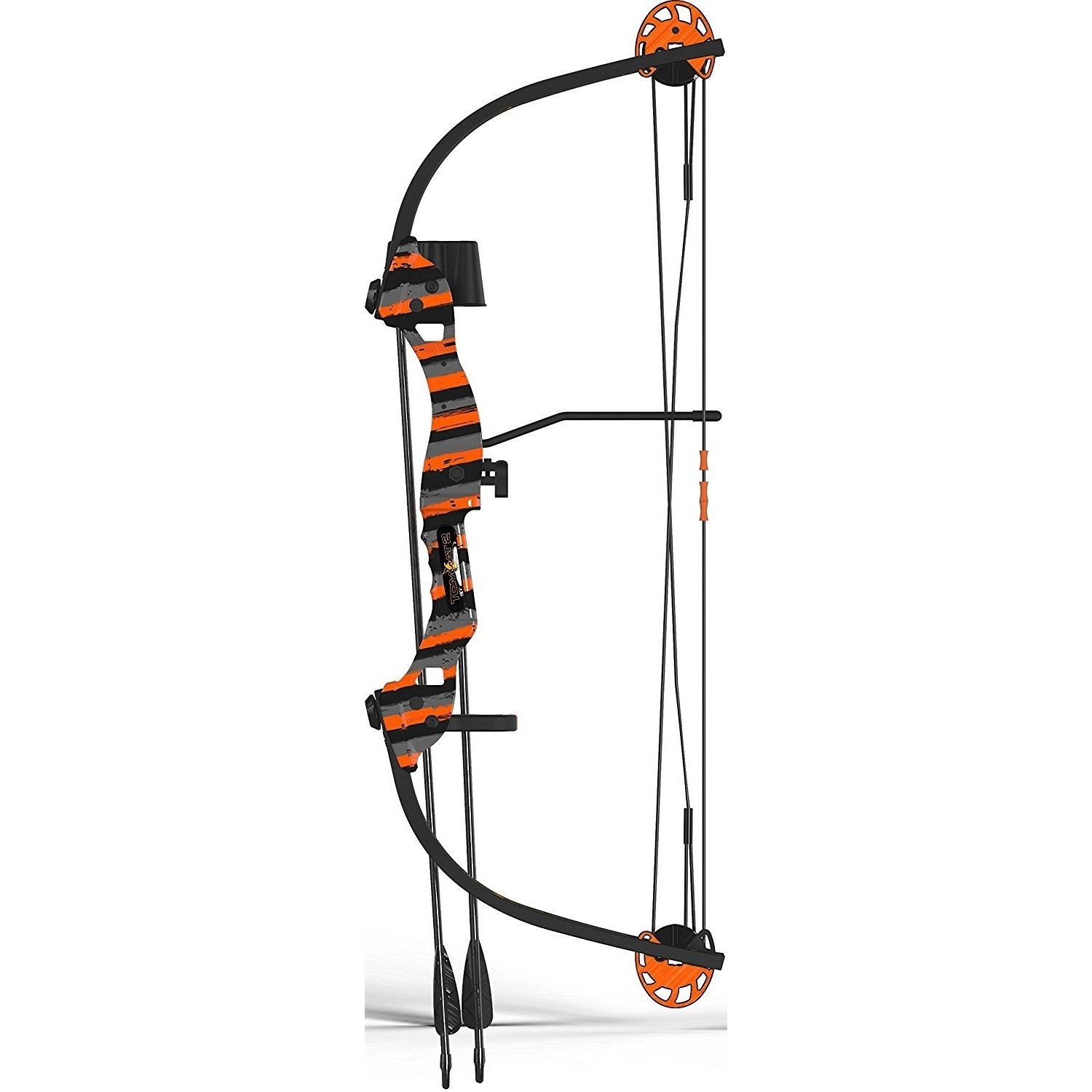 By-Arnett Bow Compound, Tomcat-2 Youth Archery Set Girls Compound Bow Kids, Orange