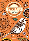 capa de O Incrível Livro de Postais Para Colorir. 28 Postais Para Enviar ou Colecionar