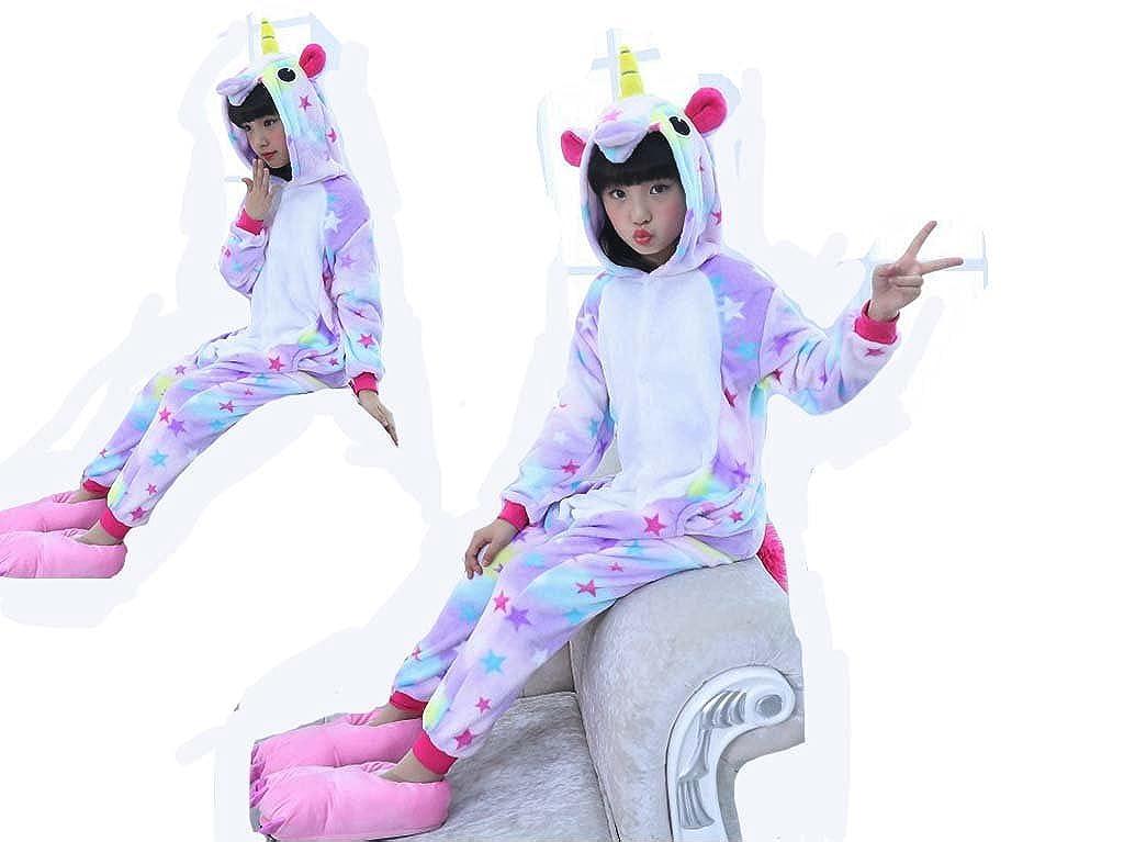 CRAZYCOS - Pijama - para niña Unicorn Star X-Large: Amazon.es: Ropa y accesorios