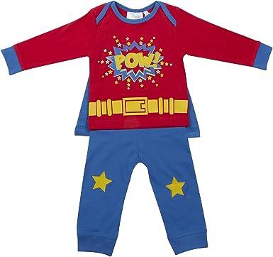 BABY TOWN - Pijama entero - para bebé niño Rojo rosso 18-24 ...