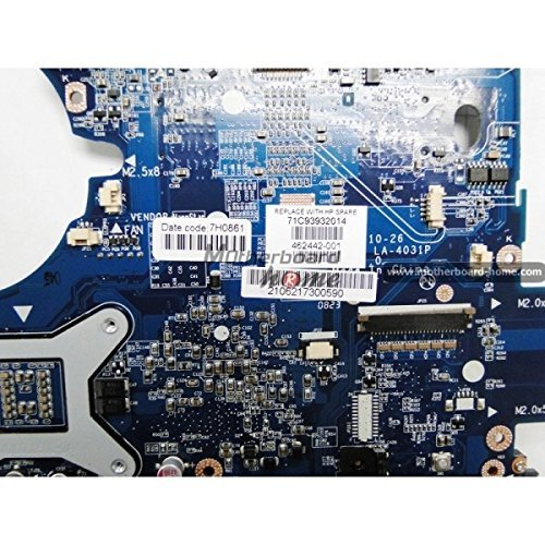 Presario Laptop Motherboard - HP Compaq Presario C700 Intel Laptop Motherboard 478 Socket 462442-001