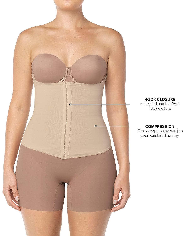 890598a985 Leonisa Women s High Waist Slimming Cincher at Amazon Women s Clothing  store