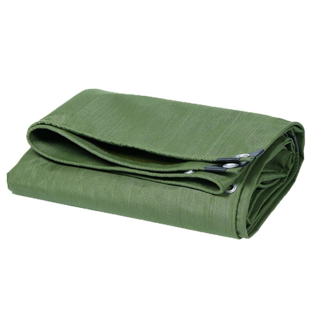 CHAOXIANG オーニング 折りたたみ可能 厚い キャンバス 防水 耐高温性 耐寒性 耐摩耗性 防塵の 耐食性 ポリエステルフィラメント 緑、 650g/m 2、 厚さ 0.75mm、 16サイズ (色 : 緑, サイズ さいず : 3x4m) B07DB7G985 3x4m|緑 緑 3x4m