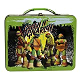 Lunch Box - Teenage Mutant Ninja Turtles - Metal Tin Case 277617-set (1 Style Only)