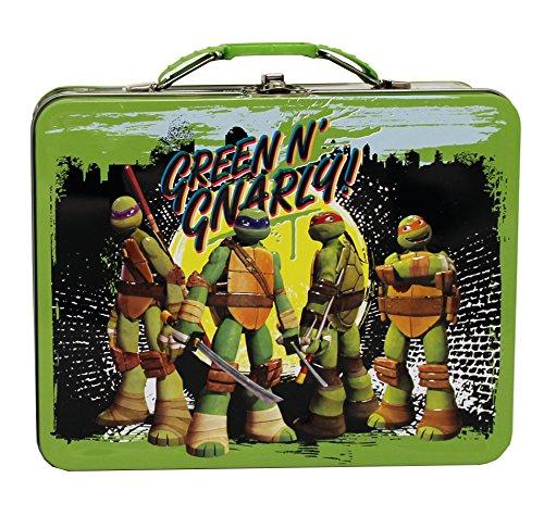 The Tin Box Company 277617-12 Teenage Mutant Ninja Turtle Large Carry All Tin- Assorted -