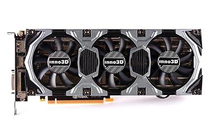 InnoVISION GeForce GTX 980 - Tarjeta gráfica (4 GB GDDR5 ...