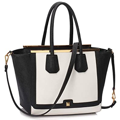 4333e150368 Womens Designer Handbag Floral Ladies Tote Bag Fashion Faux Leather Patent  Shoulder
