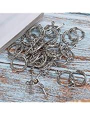 O vorm diameter 18mm legering Toggle sluiting, voor DIY sieraden maken, voor sieraden liefhebber
