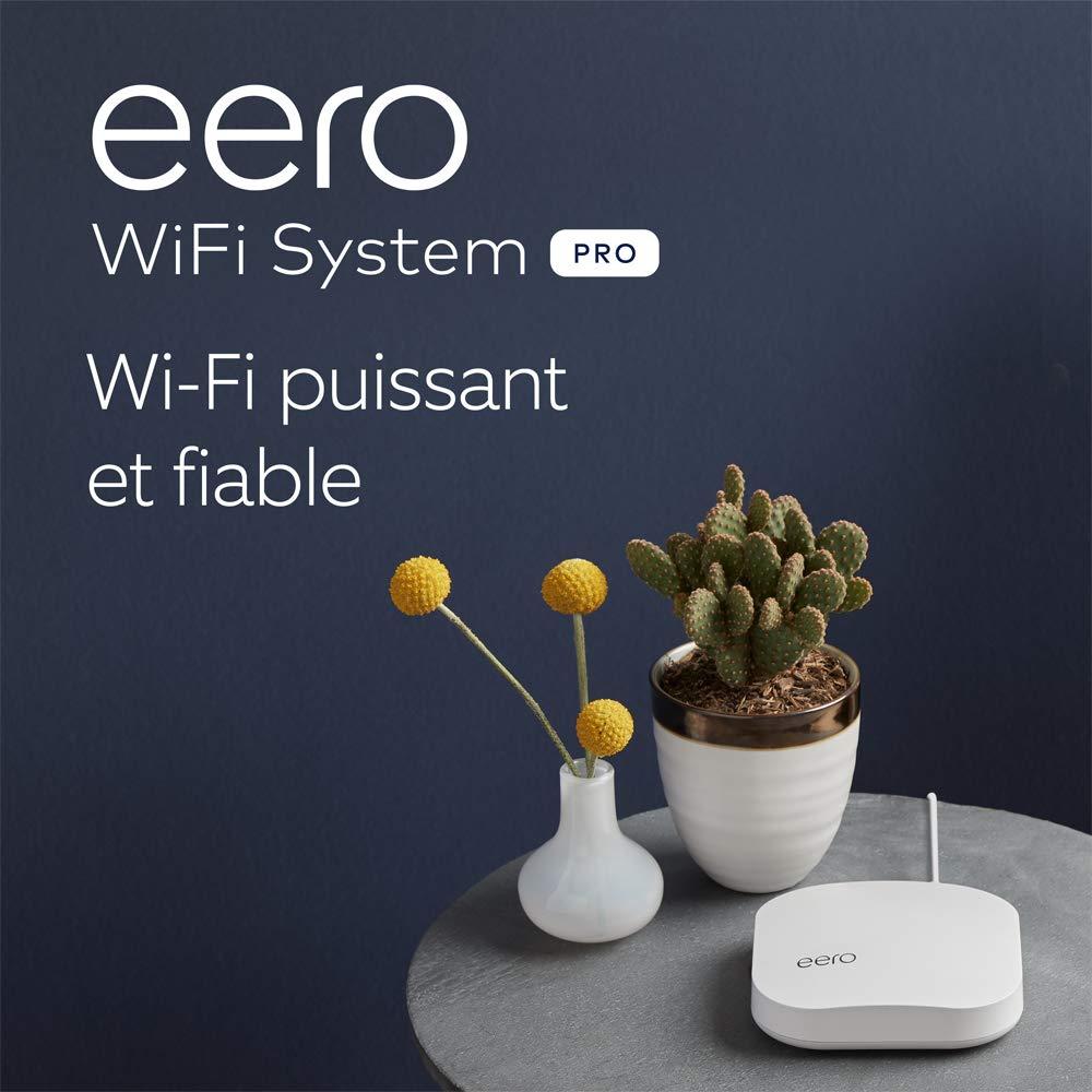 Routeur/répéteur Wi-Fi maillé (mesh) Amazon eero Pro