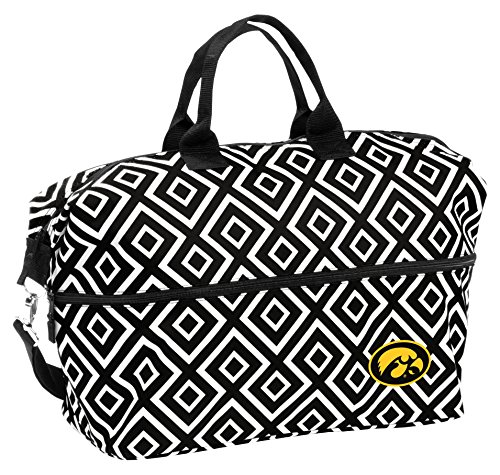 NCAA Iowa Hawkeyes Adult Expandable Tote by Logo Brands