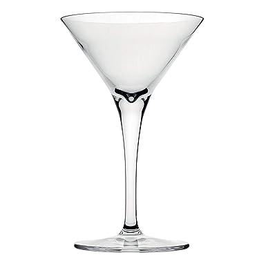 Hospitality Glass Brands 67024-006 Fame 5 oz. Martini Glass Pack of 6
