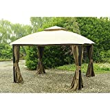 Sunjoy Replacement Mosquito Netting for 10X12ft South Hampton Gazebo Review