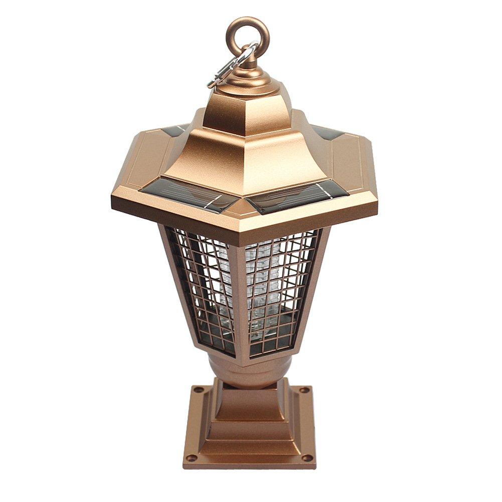 Energia Solare Inserisci Il Terreno Lampada Zanzara All'Aperto Cortile Lampada Repellente per Zanzare Luce del Prato