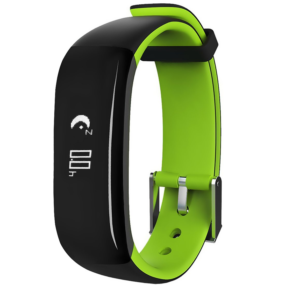 Fitness Tracker, Waterproof Sport Smart Bracelet with Heart Rate/Blood Pressure/Sleep Monitor for Teenager and Adult, Green