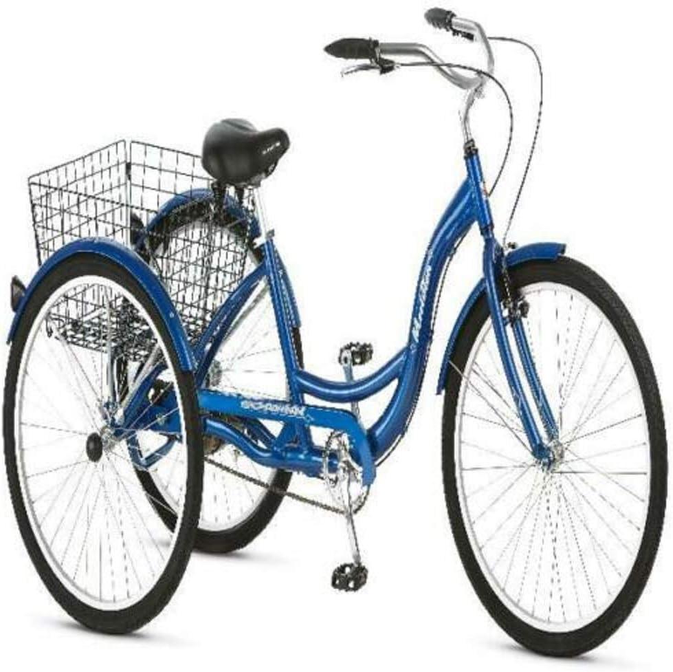 24 pedal de triciclo de aleación de aluminio, velocidad variable, velocidad única, 6 velocidades, 7 velocidades, mano de obra, exportación, bicicleta de 3 ruedas, adultos mayores, discapacitados