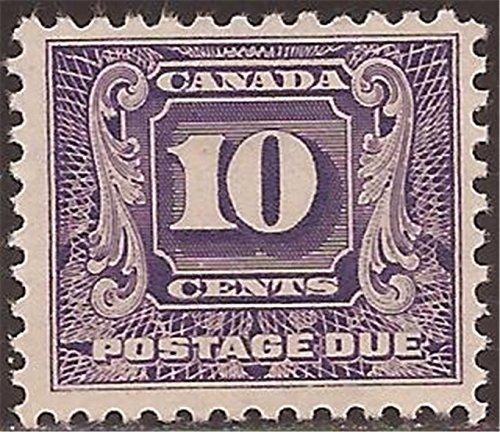 Canada - 1932 10c Postage Due - - Scott #J10 ()