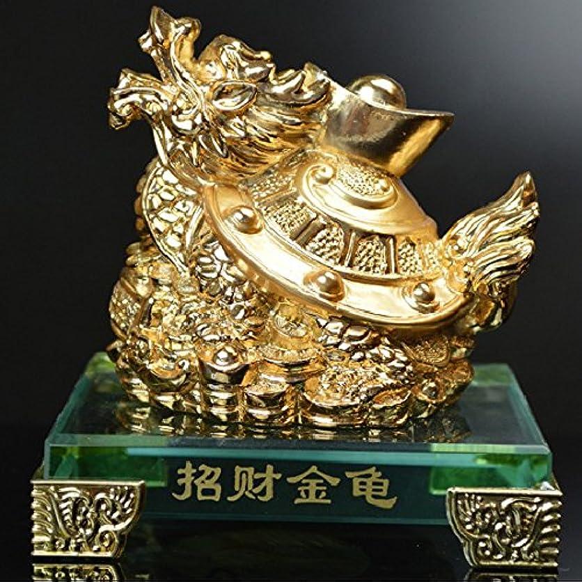 のど支給すごい五龍財珠 ドラゴンボール(人工水晶玉)付 銅製 風水グッズ