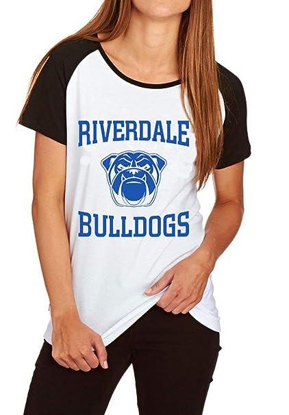 Southside Serpents Riverdale Camiseta Manga Corta Mujer T Shirt Deporte Jersey Casual Sudadera Harajuku Camisas Verano Pullover Hip Pop Blusa Cuello Redondo ...