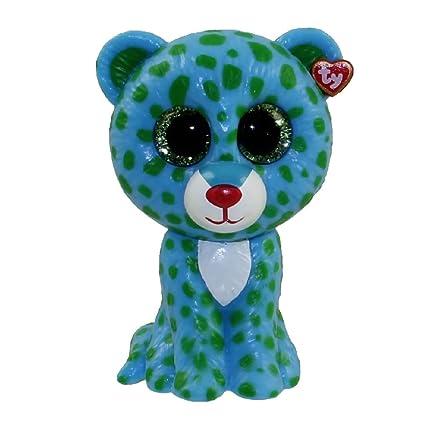 edcd89c1095 Amazon.com  TY Beanie Boos - Mini Boo Figure - LEONA the Blue ...