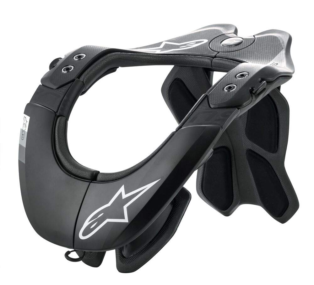 Alpinestars Bionic Neck Support Tech 2 (XS/M, Black Cool Grey) by Alpinestars