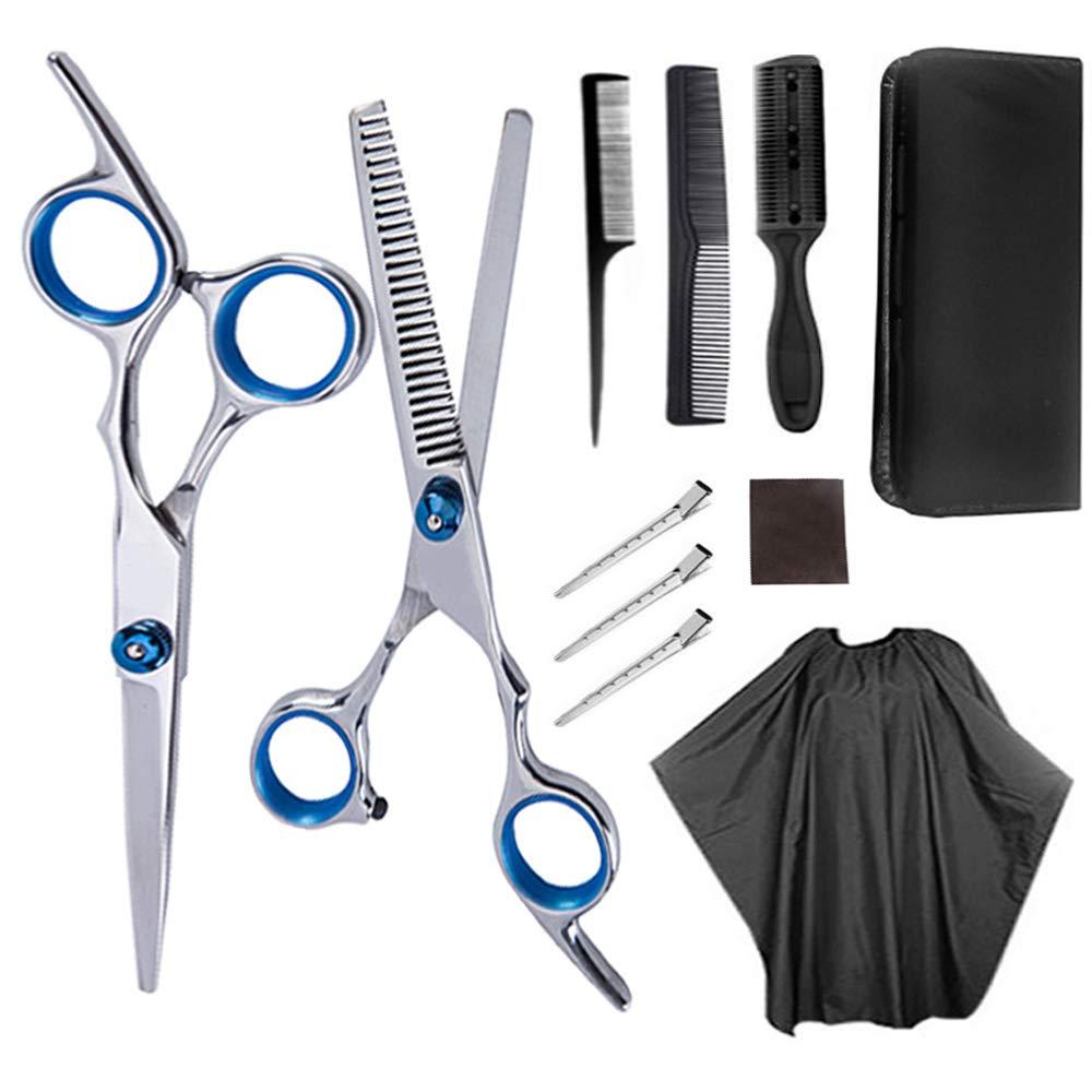 Amazon.com : Professional Hair Cutting Scissors Set 12 PCS