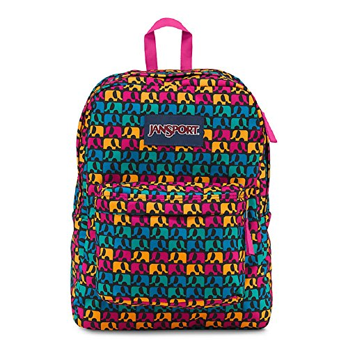 Jansport Superbreak Black Ele Fancy T50109Z by JanSport