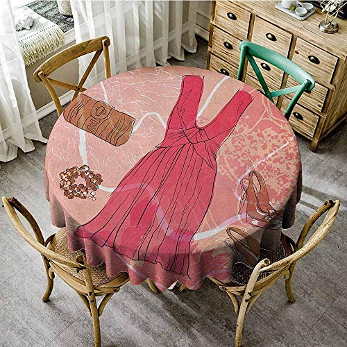 Rank-T Round Tablecloth Birthday 40