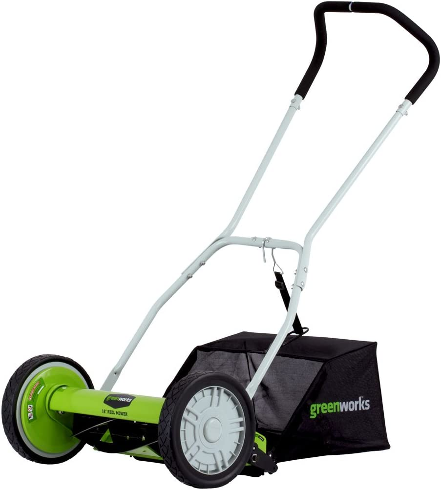 Greenworks 25052 Reel Lawn Mower