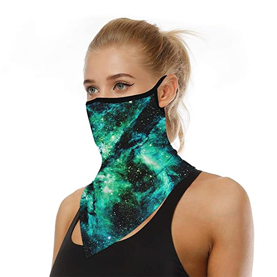 Multifunctional Headwear Bandana Scarf Neck Gaiter Elastic Seamless Tube Magic Headband Balaclava Headwrap Face Covering Tie Dye UV Residence for Outdoor Yoga Running Hiking Cycling Unisex Men Women Cover Snood Dust Protection Washable Stretchy Breathable