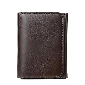 05cb09ef0 Billetera Prendas de cuero para hombres y mujeres Pinturas breves Bolso de  mano minimalista para monedero