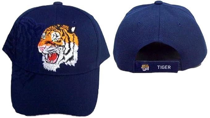 Amazon.com  Tiger Native Pride Embroidered Baseball Caps (ACapNp173S ... 40f2c7fdc3c