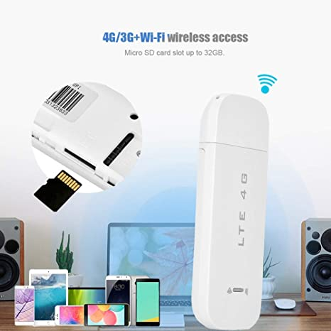 USB Dongle Modem Portable for Win XP Vista 7//10 for Mac 10.4 for iOS B1, 3, 7, 20, UFI Band 4G LTE USB Wireless Network Adapter WiFi Hotspot Router Modem Stick High Speed