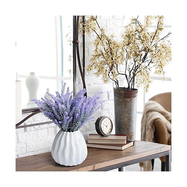 Aplstar-Artificial-Flowers-Lavender-Bouquet-in-Purple-Artificial-Plant-for-Home-Decor-WeddingGardenPatio-Decoration