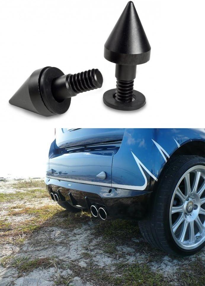 noir 1 paire de protections de pare-chocs avant//arri/ère de voiture compatible avec Benz Smart Fortwo ED 451 08-14