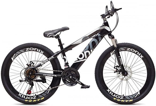 Bicicleta MTB Niño Niña Zonix 24 Pulgadas 21 Velocidades Negro ...
