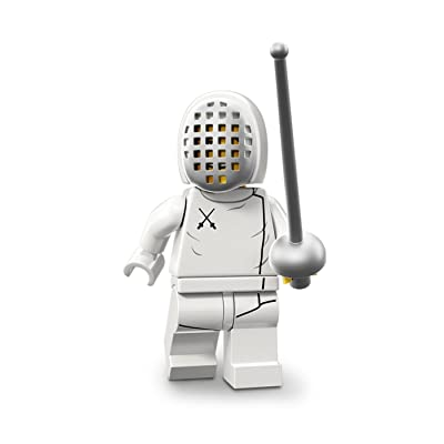 LEGO Minifigures Series 13 Fencer Construction Toy: Toys & Games