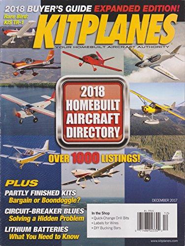 Kitplanes Magazine December 2017 (Kitplanes Magazine)