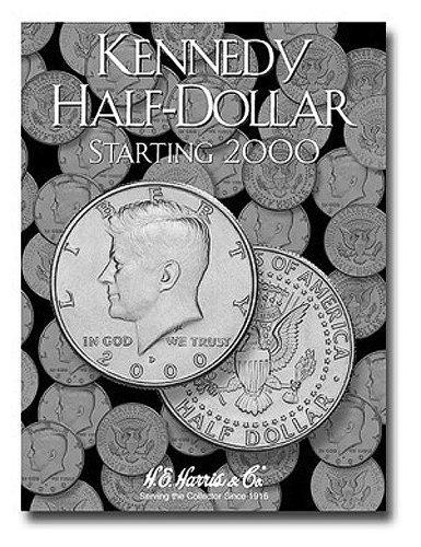 By H.E Harris Kennedy Half Dollar Folder Starting 2000 [Hardcover]